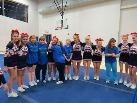 Cheer clinic with MVC